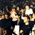 Rihanna au concert de Drake à Londres le 25 mars 2014