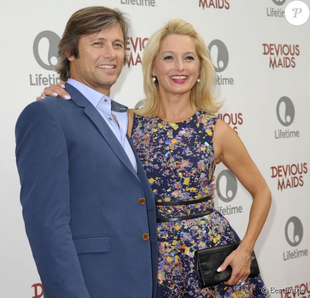"""Grant Show et sa femme Katherine à la soiree de présentation de la nouvelle série """"Devious Maids"""" à Pacific Palisades, le 17 Juin 2013."""