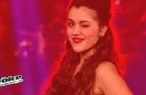 The Voice 3 : Marina d'Amico, séductrice, drague, Jacynthe est éliminée !