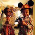 Moroccan et Monroe, les jumeaux de Nick Cannon et Mariah Carey, prennent part à la fête d'anniversaire de leur maman superstar.