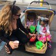 Mariah Carey fête ses 45 ans avec ses jumeaux Moroccan et Monroe.