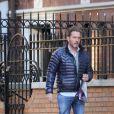 Exclusif - La princesse Madeleine de Suède et Chris O'Neill se promènent dans les rues de New York le 21 mars 2014
