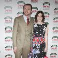 Simon Pegg et sa femme lors de la soirée Empire Magazine Film Awards à Londres le 30 mars 2014
