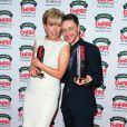 Emma Thompson et James McAvoy lors de la soirée Empire Magazine Film Awards à Londres le 30 mars 2014