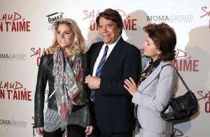 Bernard Tapie : Avec sa femme et sa fille Sophie, il est heureux comme un gosse