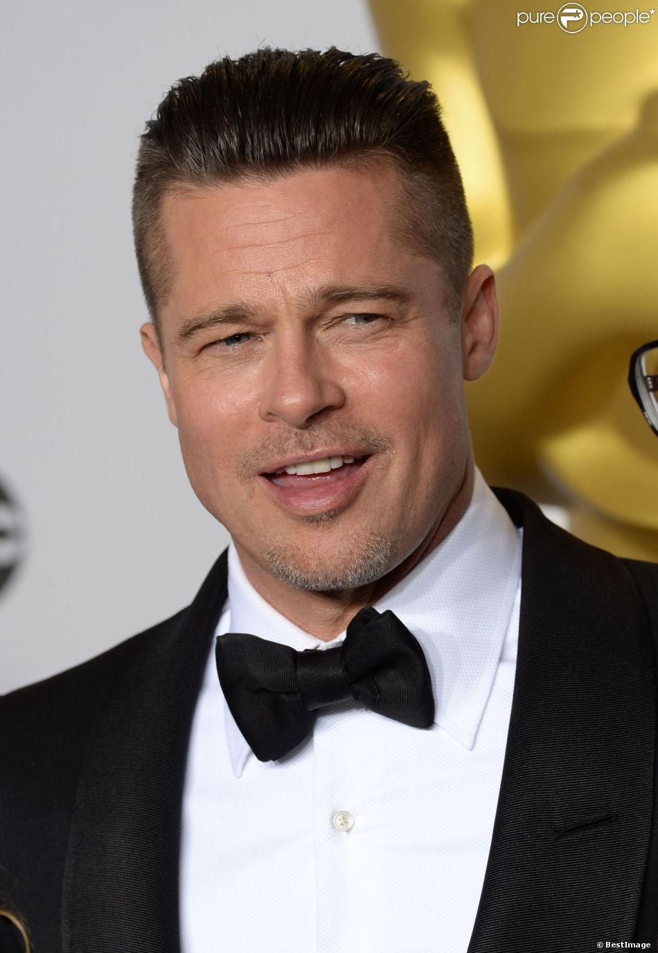 Brad Pitt aux Oscars à Hollywood, le 2 mars 2014.