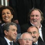 PSG-Chelsea : Gérard Depardieu supporter d'un soir avec Jamel Debbouze