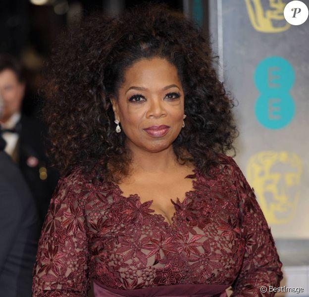 L'animatrice Oprah Winfrey à l'After party des Bafta Awards à Londres, le 16 février 2014.