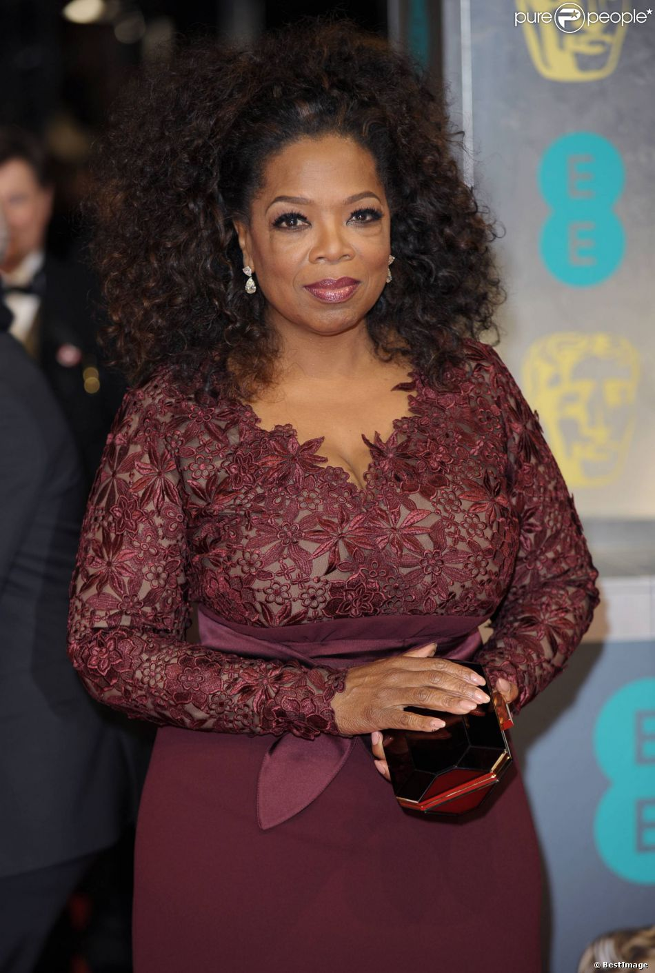 L'animatrice Oprah Winfrey à l'After party des Bafta Awards à Londres, le 16 février 2014.