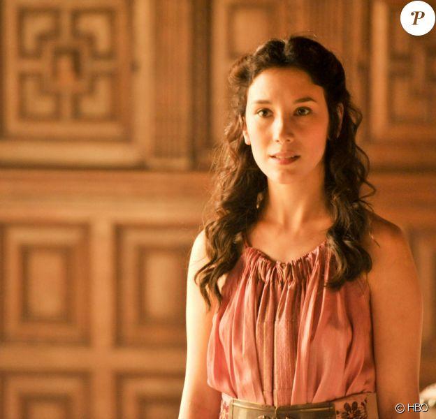 """Sibel Kekilli dans la saison 4 de """"Game of Thrones"""". En France à partir du 7 avril 2014 sur OCS City."""