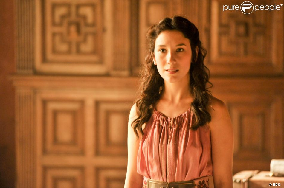 "Sibel Kekilli dans la saison 4 de ""Game of Thrones"". En France à partir du 7 avril 2014 sur OCS City."