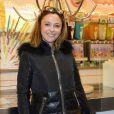 """Sandrine Quétier - Soirée d'ouverture de la """"Foire du Trone"""" au profit de l'association Petits Princes à Paris le 4 avril 2014."""