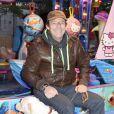 """Jean-Luc Reichmann - Soirée d'ouverture de la """"Foire du Trone"""" au profit de l'association Petits Princes à Paris le 4 avril 2014."""