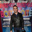 """Nicolas Vitiello - Générale de la pièce de théâtre """"Rendez-vous en boîte"""" au théâtre de La Gaîté Montparnasse à Paris, le 7 avril 2014."""