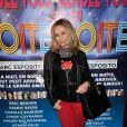 """Valérie Steffen - Générale de la pièce de théâtre """"Rendez-vous en boîte"""" au théâtre de La Gaîté Montparnasse à Paris, le 7 avril 2014."""