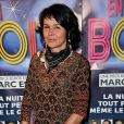 """Catherine Wilkening - Générale de la pièce de théâtre """"Rendez-vous en boîte"""" au théâtre de La Gaîté Montparnasse à Paris, le 7 avril 2014."""