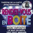 Rendez-vous en boîte, au théâtre de la Gaité Montparnasse.