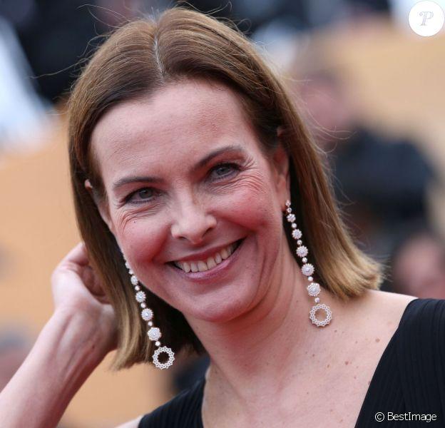 Carole Bouquet lors du Festival de Cannes le 21 mai 2012