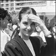 Carole Bouquet au Festival de Cannes 1982