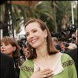 Carole Bouquet lors de l'ouverture du Festival de Cannes 2005