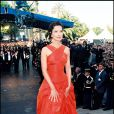 Carole Bouquet maîtresse de cérméonie du Festival de Cannes 1995