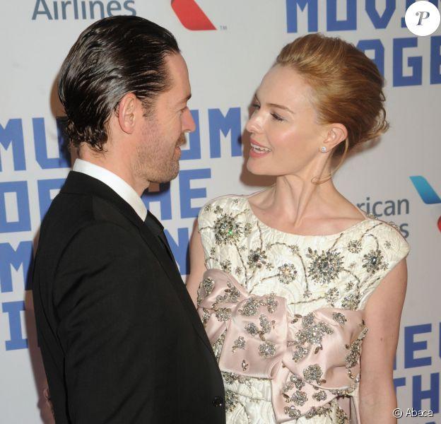 Michael Polish et Kate Bosworth au Museum Of The Moving Image pour l'hommage à Kevin Spacey, 583 Park Avenue, New York, le 9 avril 2014.