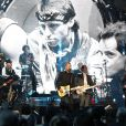 Bruce Springstein et The E Street Band - Concert d'intronisation au Rock and Roll Hall of Fame, à New York le 10 avril 2014.