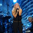 Carrie Underwood - Concert d'intronisation au Rock and Roll Hall of Fame, à New York le 10 avril 2014.