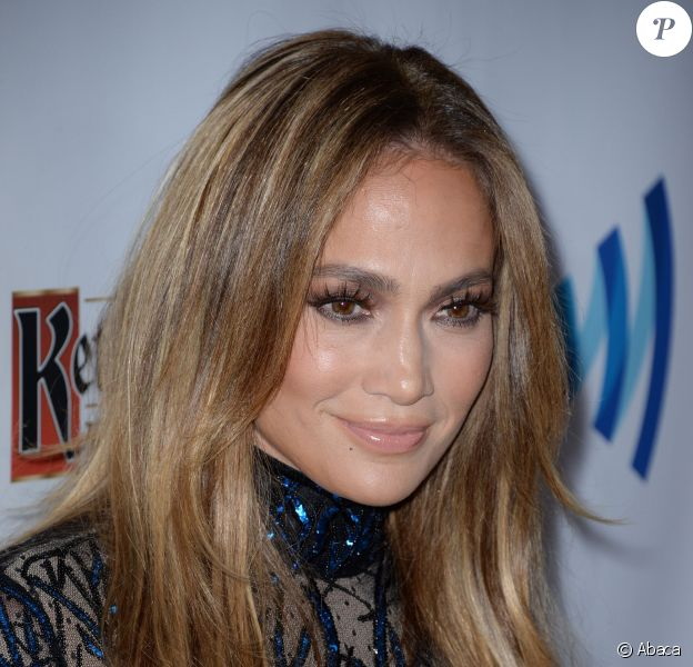 Jennifer Lopez lors des 25e GLAAD Media Awards, le 12 avril 2014 à Los Angeles.