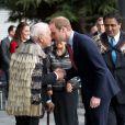 Le duc et la duchesse de Cambridge à l'Hôtel de Ville de Christchurch, en Nouvelle-Zélande, le 14 avril 2014