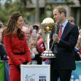 Kate Middleton et le prince William à Christchurch, en Nouvelle-Zélande, le 14 avril 2014