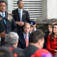 Le prince William et Kate Middleton en visite à Christchurch en Nouvelle-Zélande le 14 avril 2014
