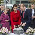A Christchurch, le 14 avril 2014, le duc et la duchesse de Cambridge se sont recueillis notamment à la mémoire des victimes des tremblements de terre de 2011