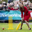 Kate Middleton et le prince William visitaient le 14 avril 2014 Christchurch, au 8e jour de leur tournée officielle en Nouvelle-Zélande.