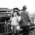 Beyoncé et Jay Z lors du premier week-end du festival de Coachella.