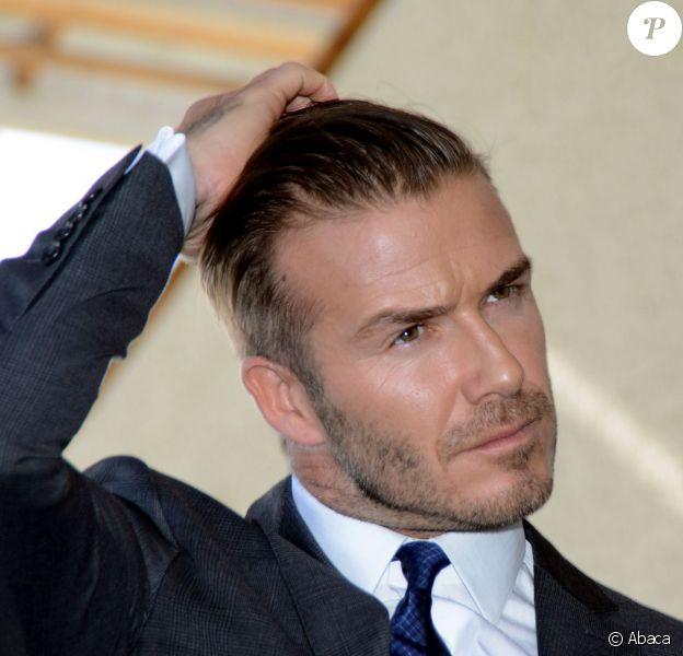 David Beckham à Miami, le 5 février 2014