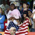 Kobe Bryant, son épouse Vanessa et une de ses filles
