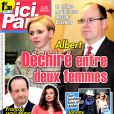 Une de Ici Paris en kiosques le 16 avril 2014