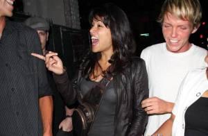 PHOTOS : Michelle Rodriguez, ravie et entourée de mâles...
