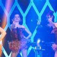 Les trois danseuses de l'Oeuf ou la Poule, émission diffusée sur D8 le 18 avril 2014.