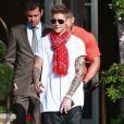 Justin Bieber à Beverly Hills, le 16 avril 2014.