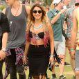 Vanessa Hudgens assiste aux concerts du 2e week-end du Festival de musique de Coachella à Indio (Californie), le 18 avril 2014.