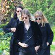 Les funérailles de Peaches Geldof se sont déroulées à Davington dans le Kent, le 21 avril 2014.