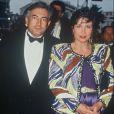 Domnique Strauss-Kahn et Anne Sinclair au Festival de Cannes, en mai 1991.