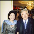 Domnique Strauss-Kahn et Anne Sinclair à Paris, le 10 novembre 2000.