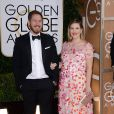 Will Kopelman et Drew Barrymore aux Golden Globe Awards le 12 janvier 2014.
