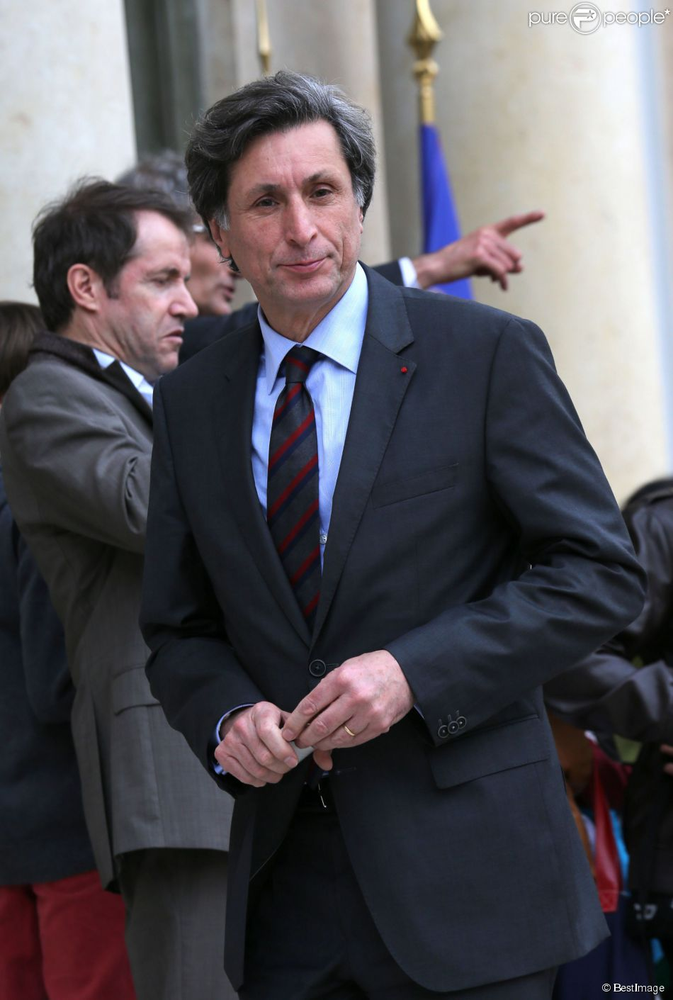 Patrick de Carolis à l'Elysée, le 12 juin 2013.