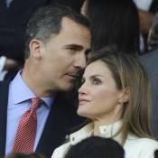 Letizia et Felipe d'Espagne : Au stade pour l'Atletico, après le Prix Cervantes
