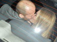 Rosie Huntington-Whiteley et Jason Statham: Dîner en amoureux et baiser fougueux