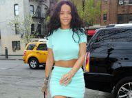 Rihanna : Ventre et jambes à l'air, l'icône de mode use de ses charmes